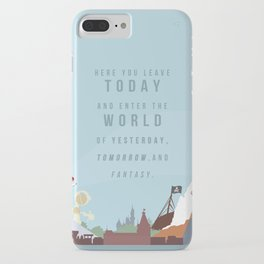 "Minimalist Magic-""Leave Today"" DAY iPhone Case"