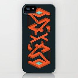 Monument Maze iPhone Case