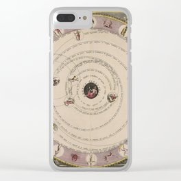 Celestial Planes as According to Aratea 1708 Clear iPhone Case