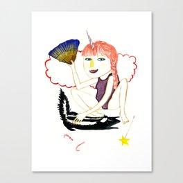 Skunk Lady  Canvas Print