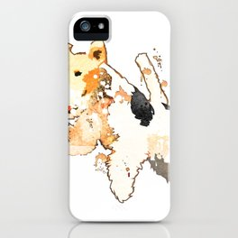 Fox Terrier iPhone Case