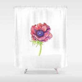 Floral Graphic Design Elements Shower Curtain