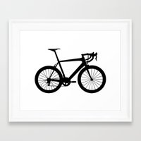 sport Framed Art Prints featuring sport bike by Fabian Bross