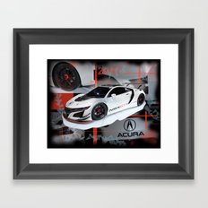 2017 NSX GT3 Framed Art Print