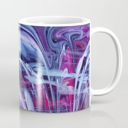 Fire Hydrant Spraying Water Coffee Mug