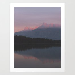 Vermillion Lake Art Print