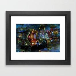 Wanderer's Cove Framed Art Print