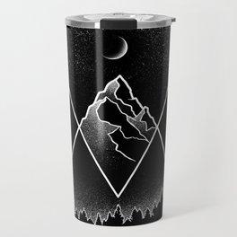 Pyramidal Peaks Travel Mug