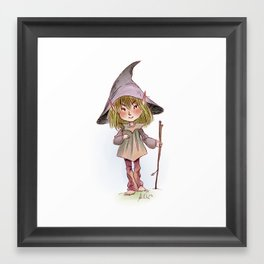 Scouting Sanke Elf Framed Art Print