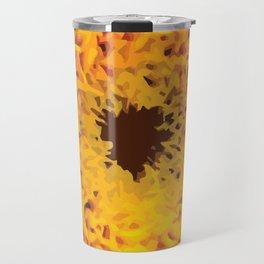 Yellow Flowers Travel Mug