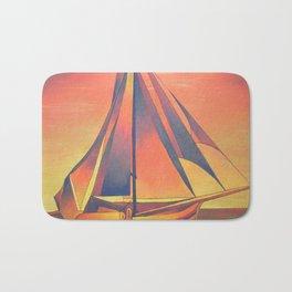 Sienna Sails at Sunset Bath Mat
