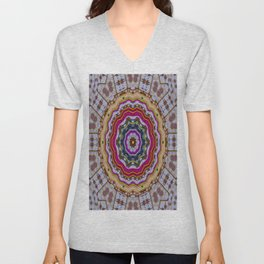 Woodstock Pattern kinda Unisex V-Neck