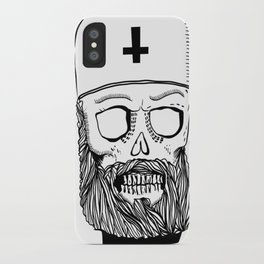 Satan bless you iPhone Case