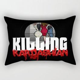Killing Kardashian Sniper Logo Rectangular Pillow