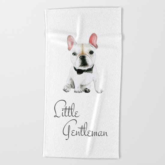 Little Gentleman Beach Towel