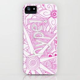 Hype! iPhone Case