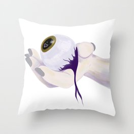 Eye See You Haven't Changed Throw Pillow
