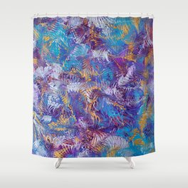 Rainbow dance Shower Curtain