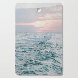 summer sunset xiii Cutting Board