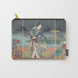 Prince Genji, Japanese Triptych, 1860 Carry-All Pouch