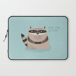 Sneaky Raccoon Laptop Sleeve