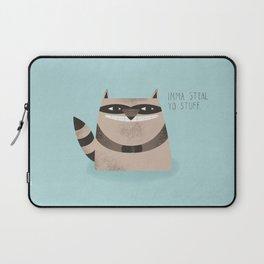Sneaky Raccoon Laptop Sleeve