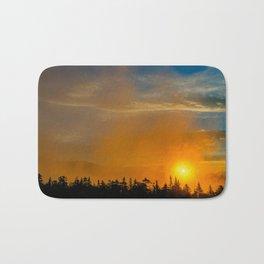 Gold Mist Sunset Bath Mat