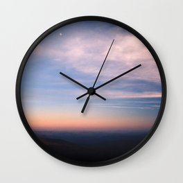 Moon Over Boone Wall Clock