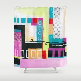 Determined Direction Shower Curtain