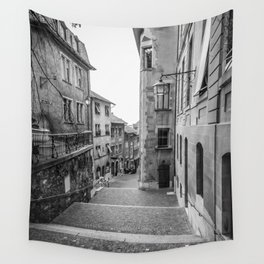 Old Town Geneva Wall Tapestry