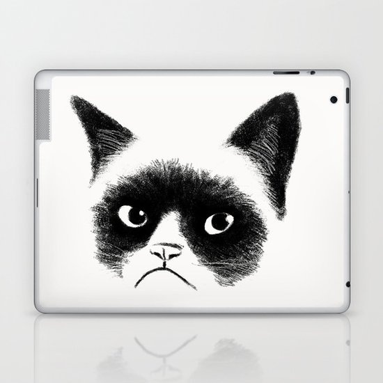 Grumpy Cat Laptop & iPad Skin