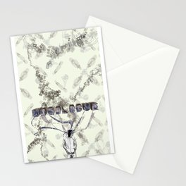 Monologue project Stationery Cards