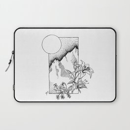 Lillies and Violets Laptop Sleeve