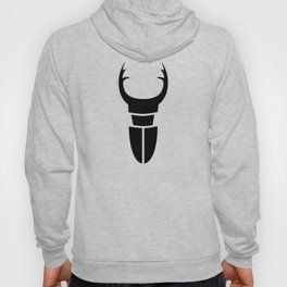 Bugs: abstract Stag Beetle Hoody