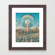 GIANT PERSON (everyday 10.27.16) Framed Art Print