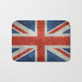 "UK British Union Jack flag ""Bright"" retro Bath Mat"