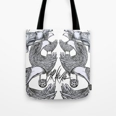 vultures and crows Tote Bag