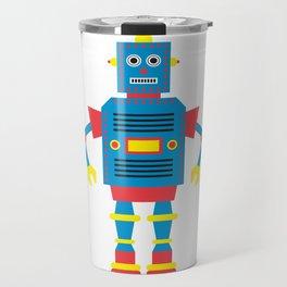 a humanoid Travel Mug