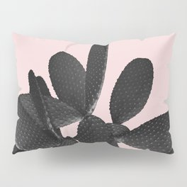 Black Blush Cactus #2 #plant #decor #art #society6 Pillow Sham