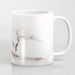 Scots Pine Sepia Coffee Mug