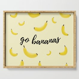 Go Bananas Serving Tray