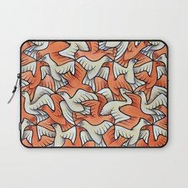 Birdwatching Bali Birds Ornithology Tessellation Laptop Sleeve