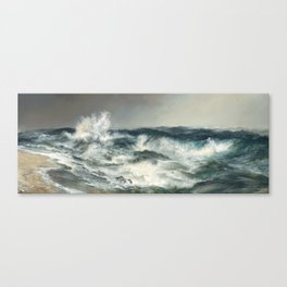 The Much Resounding Sea Thomas Moran Canvas Print