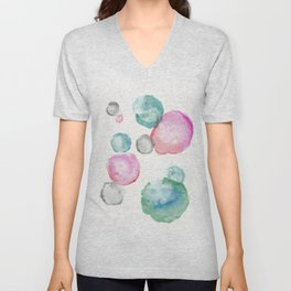 Mary Lou circles Unisex V-Neck