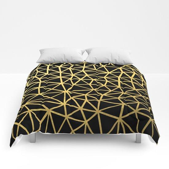 Broken Gold Comforters