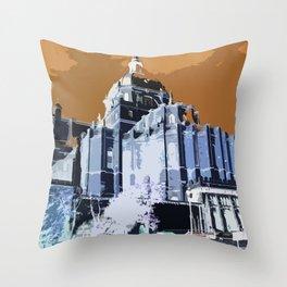 La Almudena-Madrid Throw Pillow