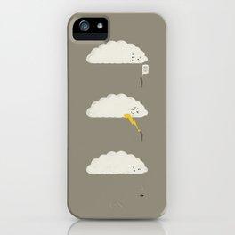 Cloud High Five iPhone Case