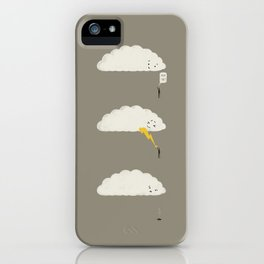 Cloud High Five iPhone Case
