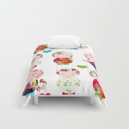 Dolls (White) Comforters