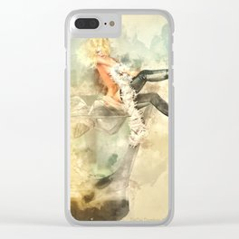 Shaken, not stirred Clear iPhone Case